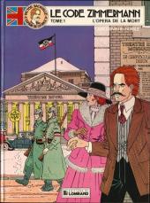 Victor Sackville -1- Le code Zimmermann Tome1 L'opéra de la mort
