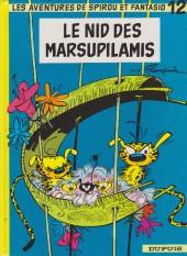 Spirou et Fantasio -12f93- Le nid des Marsupilamis