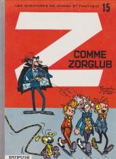 Spirou et Fantasio -15f94- Z comme Zorglub
