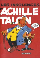 Achille Talon (Publicitaire) -7pizza hut- Les insolences d'Achille Talon