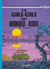 Spirou et Fantasio -25e99- Le gri-gri du Niokolo-Koba