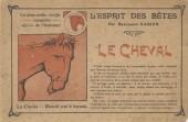 (AUT) Rabier - Esprit des bêtes : Le cheval