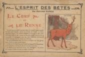 (AUT) Rabier - Esprit des bêtes : Le cerf et le renne