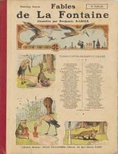 Les fables de La Fontaine (Rabier) -1- Première Partie
