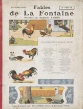 Les fables de La Fontaine (Rabier) -4- Quatrième Partie