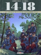 14-18 (Corbeyran/Le Roux) -2- Tome 2. Les chemins de l'enfer (septembre 1914)