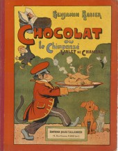 (AUT) Rabier - Chocolat ou le Chimpanzé Valet de Chambre