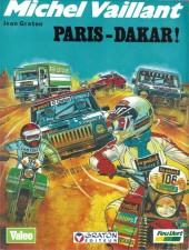Michel Vaillant -41Pub- Paris-Dakar !