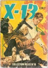 X-13 agent secret -Rec18- Collection reliée N°18 (du n°137 au n°144)