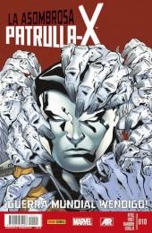 La asombrosa Patrulla-X -10- ¡Guerra Mundial Wendigo! Parte 3