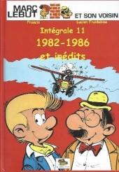 Marc Lebut et son voisin -Int11- Intégrale 11: 1982-1986 et inedits