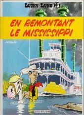 Lucky Luke -16d98- En remontant le Mississippi