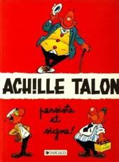 Achille Talon -3d86- Achille talon persiste et signe