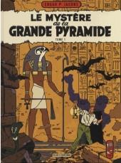 Blake et Mortimer (Les Aventures de) -4d2015- Le Mystère de la Grande Pyramide - Tome 1