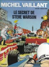 Michel Vaillant -28a1983- Le secret de Steve Warson
