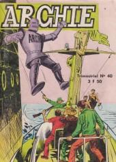 Archie (Jeunesse et Vacances) -40- L'île de la peur