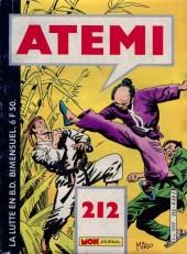 Atemi -212- Poing d'Acier - Le dragon noir