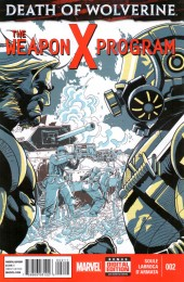 Death of Wolverine: The Weapon X Program (2015) -2- Hypothesis