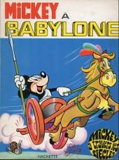 Mickey à travers les siècles -2a- Mickey à Babylone