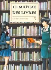 Le maître des livres (Toshokan no Aruji)  -3- Tome 3