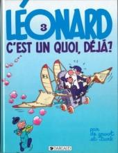 Léonard -3c1989- Léonard, c'est un quoi, déjà ?