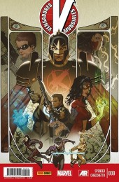 Vengadores Mundiales -9- Ascensión. Parte 7