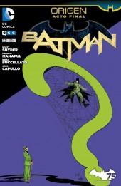 Batman (en espagnol) -32- Origen. Acto Final