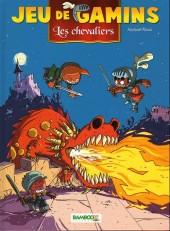 Jeu de gamins -3a- Les chevaliers