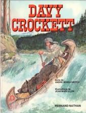 Les grands hommes de l'Ouest - Davy Crockett