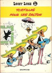 Lucky Luke -31a77- Tortillas pour les Dalton