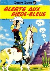 Lucky Luke -10b82- Alerte aux Pieds-Bleus