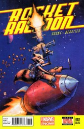 Rocket Raccoon (2014) -2C- A Chasing Tale Part 2