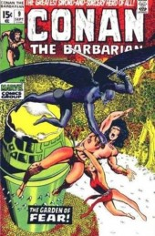 Conan the Barbarian Vol 1 (Marvel - 1970) -9- The garden of fear