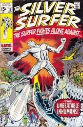 Silver Surfer Vol.1 (Marvel comics - 1968) -18- To Smash the Inhumans!