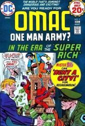 Omac (1974) -2- In the era of the super rich