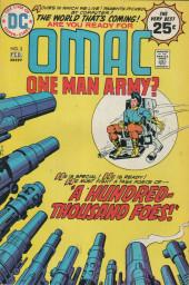 Omac (1974) -3- A hundred thousand foes