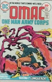 Omac (1974) -4- Busting of a conqueror