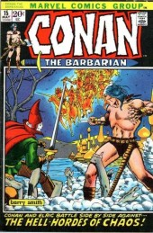 Conan the Barbarian Vol 1 (Marvel - 1970) -15- The hell-hordes of chaos