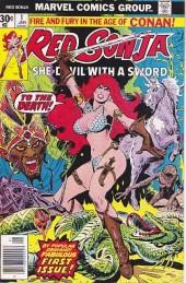 Red Sonja Vol.1 (Marvel comics - 1977) -1- The blood of the Unicorn