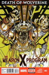 Death of Wolverine: The Weapon X Program (2015) -3- Experimentation