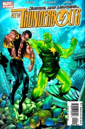New Thunderbolts (2005) -9- The T-Bolts vs. the Sub-Mariner