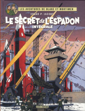 Blake et Mortimer (Les Aventures de) -INT1b- Le secret de l'Espadon - Intégrale