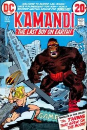 Kamandi, The Last Boy On Earth (1972) -3- The thing that grew on the moon!