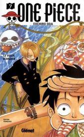 One Piece -7- Le vieux schnock