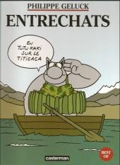 Le chat -Compil99a- Entrechats