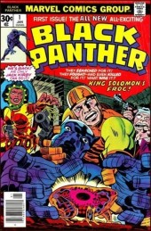 Black Panther Vol.1 (Marvel - 1977) -1- King salomon's frog!
