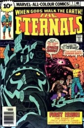 The eternals Vol.1 (Marvel comics - 1976) -1UK- The day of the gods