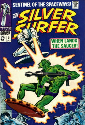 Silver Surfer Vol.1 (Marvel comics - 1968) -2- When lands the saucer