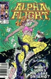 Alpha Flight (1983) -14- Biology Class