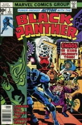 Black Panther Vol.1 (Marvel - 1977) -3- Race against time